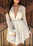 Womens Long Sleeve Prom/cocktail Party Dress