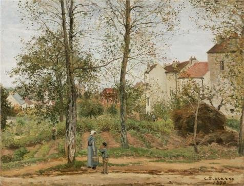 the-perfect-effect-canvas-of-oil-painting-houses-at-bougival-autumn1870-by-camille-pissarro-size-24x