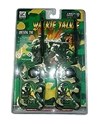 BATTERY OPERATED MILITARY WALKIE TALKIE SET TOY FOR KIDS