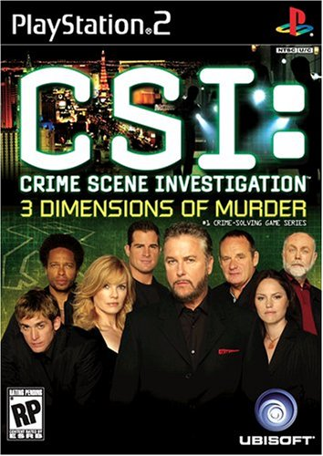 Csi: 3 Dimensions Of Murder - Playstation 2 front-872338