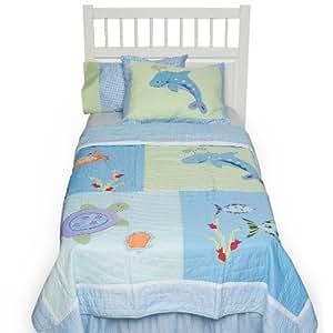 Tiddliwinks Under The Sea 4 Piece Full Bedding Set by Kidsline