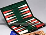 "Backgammon - 21"" Tournament Size Blac..."