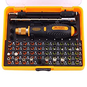 US Shipping 53 in 1 JM-8127 Screwdriver Set Repair Kit Opening Tools For Cellphone Computer