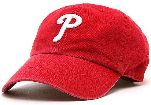 フィラデルフィア・フィリーズ MLB カジュアルキャップ(CLEAN UP CAP)