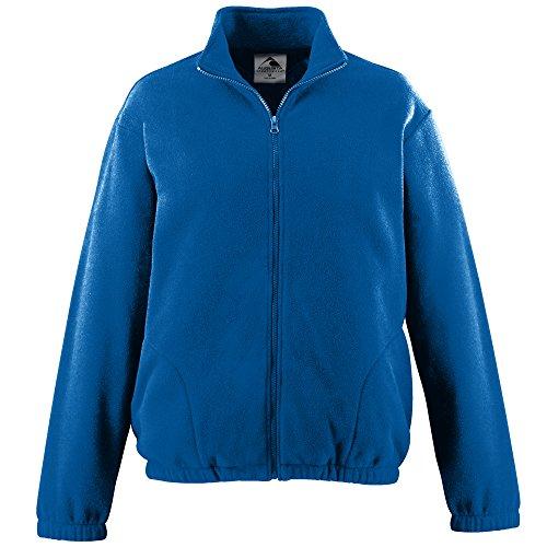 BOYS' CHILL FLEECE FULL ZIP JACKET Augusta Sportswear M Royal