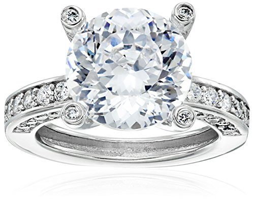 platinum-plated-sterling-silver-100-facets-collection-solitaire-cubic-zirconia-ring-with-channel-set