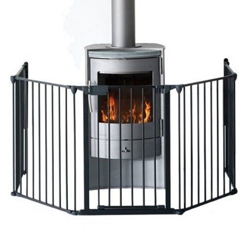 Premium Hearth Gate Black