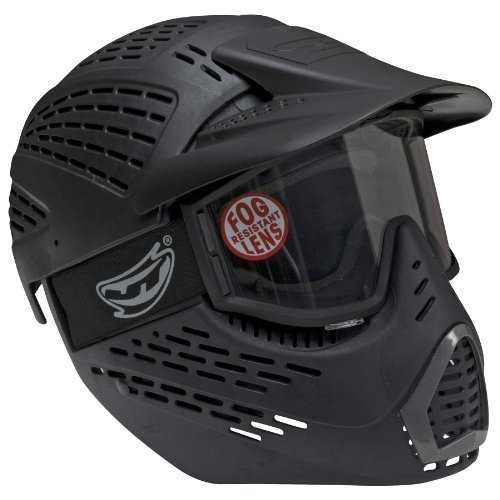 JT Sports Elite Headshield Single Mask, Black