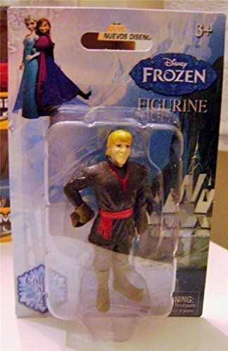 "DISNEY FROZEN FIGURE FIGURINE KRISTOFF 3"" INCH 2014 NEW RARE NEW IN PACKAGE"