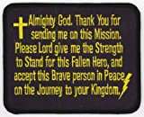 Flag Line Prayer Patch