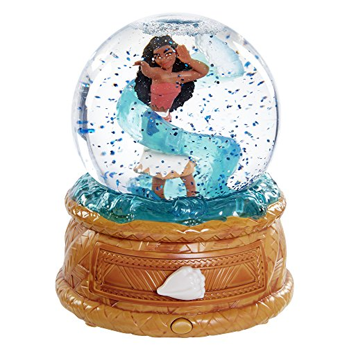 Disney Moana Musical Water Globe Jewelry Box