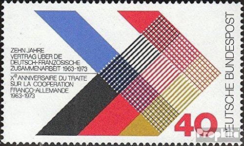 BRD (BR.Deutschland) 753 (kompl.Ausgabe) postfrisch 1973 Deutsch-französischer Vertrag (Briefmarken für Sammler)
