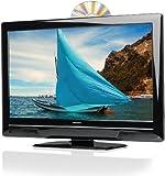 Medion Life P12070 58,4 cm (23 Zoll) LED-Backlight Fernseher, EEK C (Full-HD, DVB-T, DVD Player) schwarz