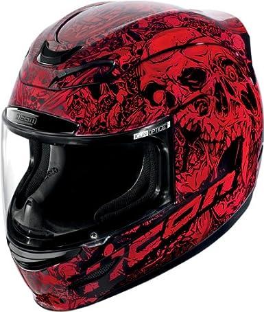 Casque moto Icon AIRMADA PARAHUMAN - XXL - Rouge