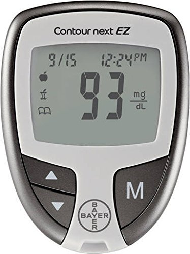Contour-Next-Diabetes-Testing-Kit-Contour-Next-Ez-Meter-50-Bayer-Contour-Next-Test-Strips-100-30g-Lancets-1-Lancing-Device-100-Alcohol-Prep-Pads-and-Control-Solution
