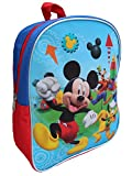 Disney Mickey Mouse 11 Mini Toddler Preschool Backpack