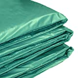 Rebo 10FT Trampoline Replacement Padding Surround in Green - Fits all Round Trampolines