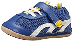 Robeez Athletic Sneaker (Infant), Royal Blue, 3-6 Months M US Infant