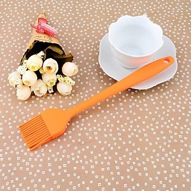 Stars 21CM*3.5CM1CM Color Silicone Small Size Kitchen Cooking Baking Tools Brush Butter
