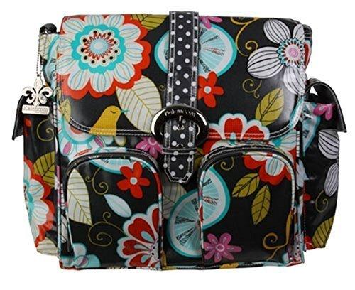 by-kalencom-kalencom-double-duty-coated-buckle-changing-bag-tweet-birdie