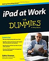 iPad at Work For Dummies Front Cover