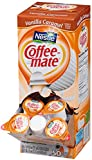 Coffee-mate Coffee Creamer, Vanilla Caramel Liquid Creamer Singles, 3/8 Fluid Ounce (Pack of 50)