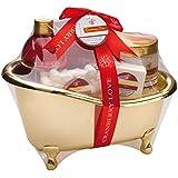 Geschenkset - Der wunderschöne Avion Cranberries Badekorb