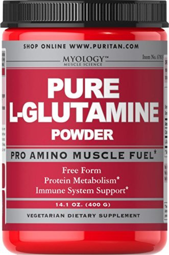 Myology Pure L-Glutamine Powder 4500 mg-14.1 oz Powder by Myology