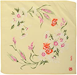 Generic Women's Handkerchief - Set of 12 (Multi-Coloured, 29 Cms x 29 Cms)