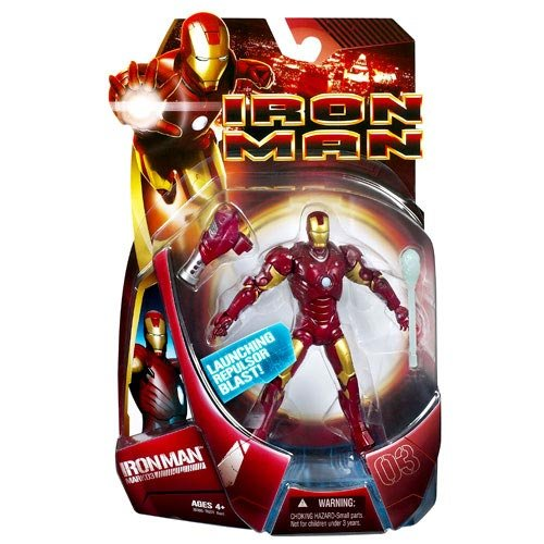 Iron Man Mark 3 Armour Action Figure - Iron Man