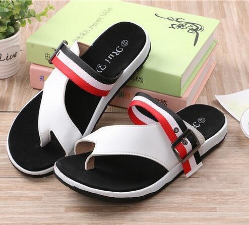 Si& Pantofole/flip flop/estate uomini nuovi uomini di/pantofole/trend della versione coreana delle pantofole sandali/casual cool/home , white-40 , white-40