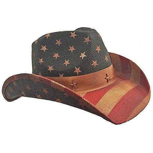 American Flag Cowboy Hat