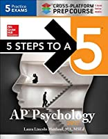 5 Steps to a 5 AP Psychology 2017 Cross-Platform Prep Course Front Cover