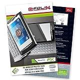 """atFoliX Spiegelfolie Sony-Ericsson Xperia X10 mini pro - FX-Mirror, vollverspiegelte Premium Folie - (Gew�lbter Displayrand, Folie bewusst kleiner konstruiert)von """"Displayschutz@FoliX"""""""