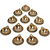 SWS Brass Kuber Diya Brass Deepak Diwali Pooja Item - Deepawali Lighting Brass Oil Diya Diwali Decoration Pooja... - B01LAU1O9Y