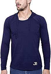 Jangoboy Men's Regular Fit Sweatshirt (F4U-26_S, Dark Blue, S)
