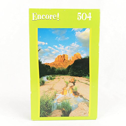 Encore 504 Piece Jigsaw Puzzle Cathedral Rock, Sedona, AZ - 1