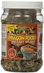 San Francisco Bay Brand SSF71955 Bulk Healthy Herp Bearded Dragon Mix Adult Instant Meal, 3.9-Ounce