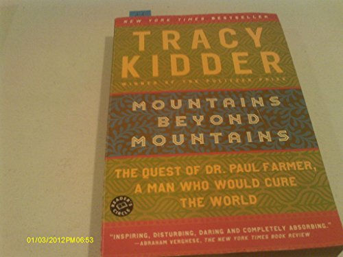 Mountains beyond mountains by tracy kidder essay