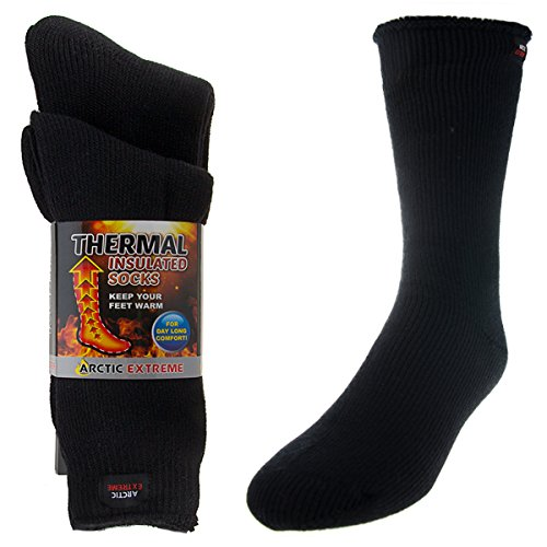 2 Pairs of Thick Heat Trapping Insulated Heated Boot Thermal Socks Pack Warm Winter Crew For Cold Weather (Hunting Boots For Men Insulated compare prices)