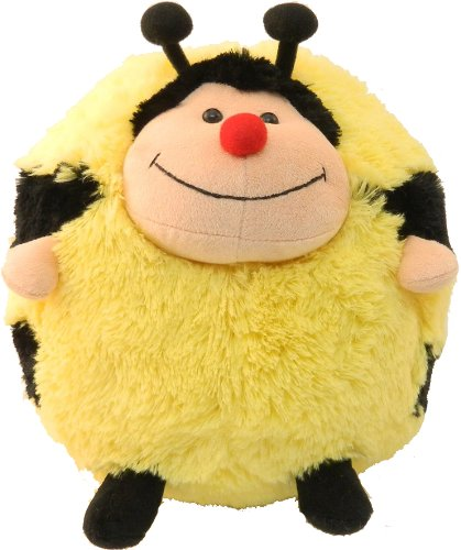 Yellow Black Cute Bumble Bee Plush Pillow Cushion Ball item# 6022