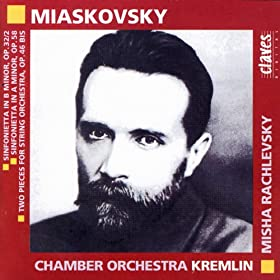 Miaskovski: Music for Strings