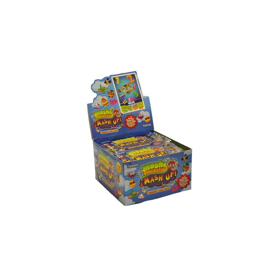 Topps Moshi Monsters Mash Up Trading Card Game Box