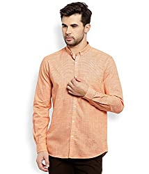 Colorplus Men's Casual Shirt (8907397515396_CMSS25758-Y4_Large_Medium Yellow)