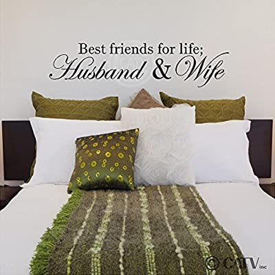 Amazon com - Best Friends For Life; Husband And Wife wall