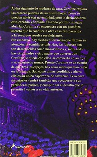 Coraline, versión español, pasta suave