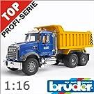 bruder ブルーダー 02815 MACK マック Tipup トラック1/16