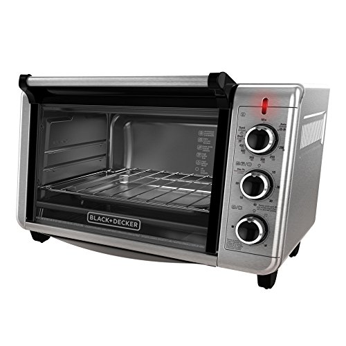 NEW Black & Decker TO3210SSD Countertop Convection Toaster Oven Silver ...