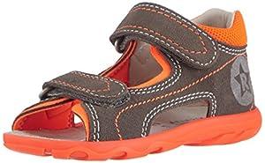 Richter Kinderschuhe Terrino 2118-521 - Zapatos primeros pasos de cuero para niño marca Richter Kinderschuhe
