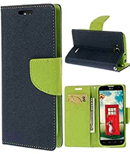 Mercury Flip Cover for SAMSUNG GALAXY STAR PRO 7262 Blue
